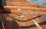 Construction et finition de la pirogue