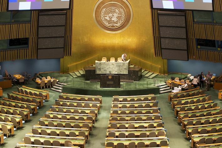 ASF à l'ONU
